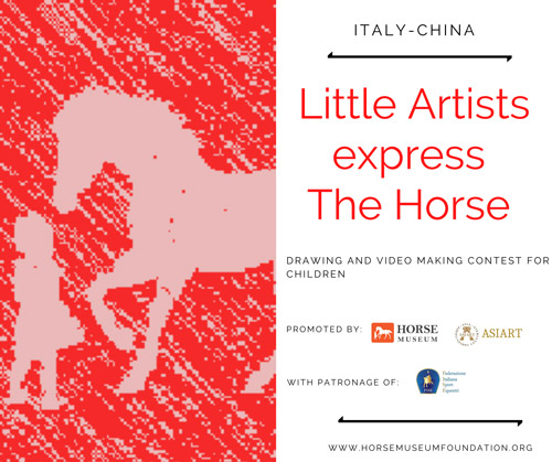 "Contest ""Young artists express the horse"""
